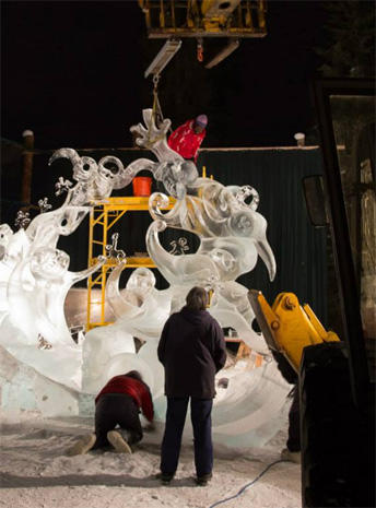 World Ice Art Championships 2015