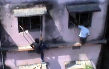 Watch: Indian parents climb school walls to help kids cheat