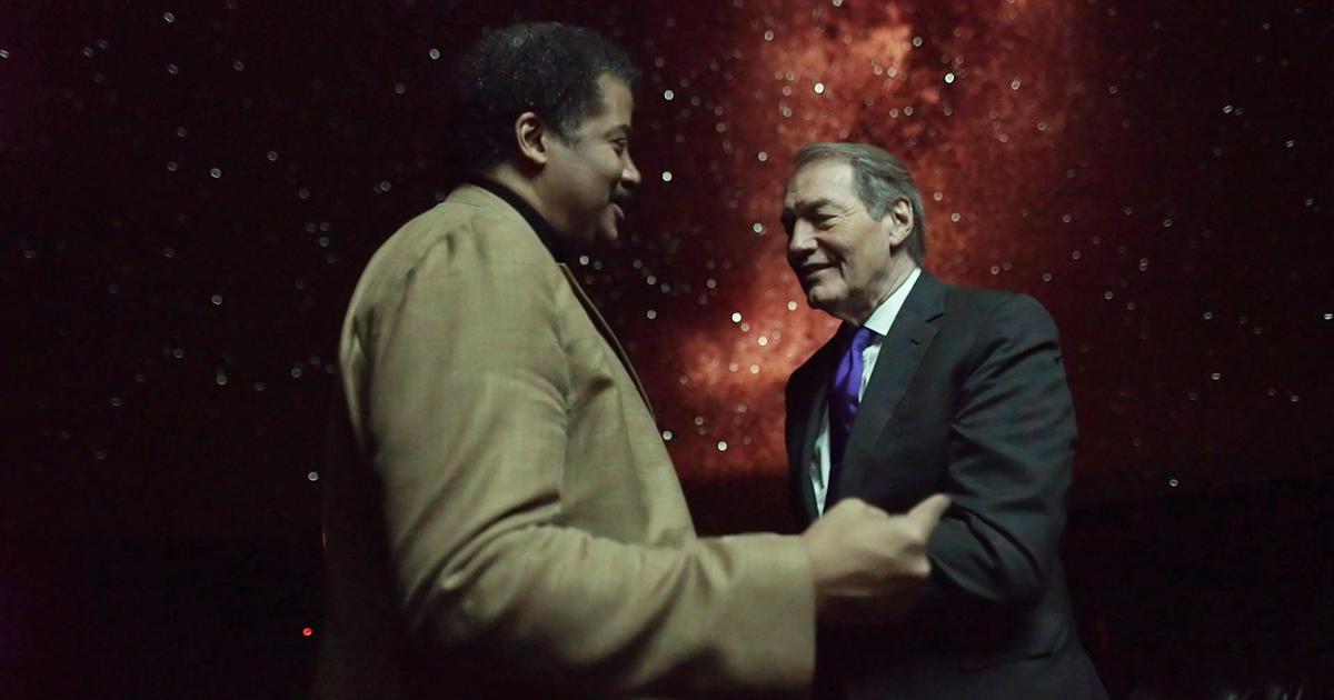 Astrophysicist Neil deGrasse Tyson's one-man mission