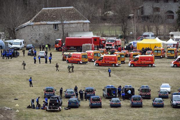 Deadly plane crash in French Alps