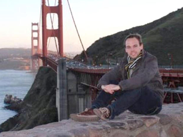 A file photo of the man believed to be Andreas Guenter Lubit, who was the co-pilot of Germanwings Flight 9525