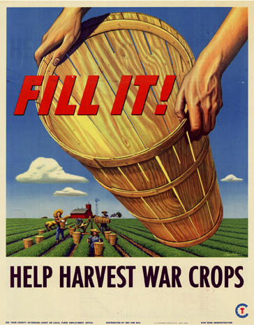 World War I   Propaganda Art For WWII Victory Gardens   Pictures   CBS News