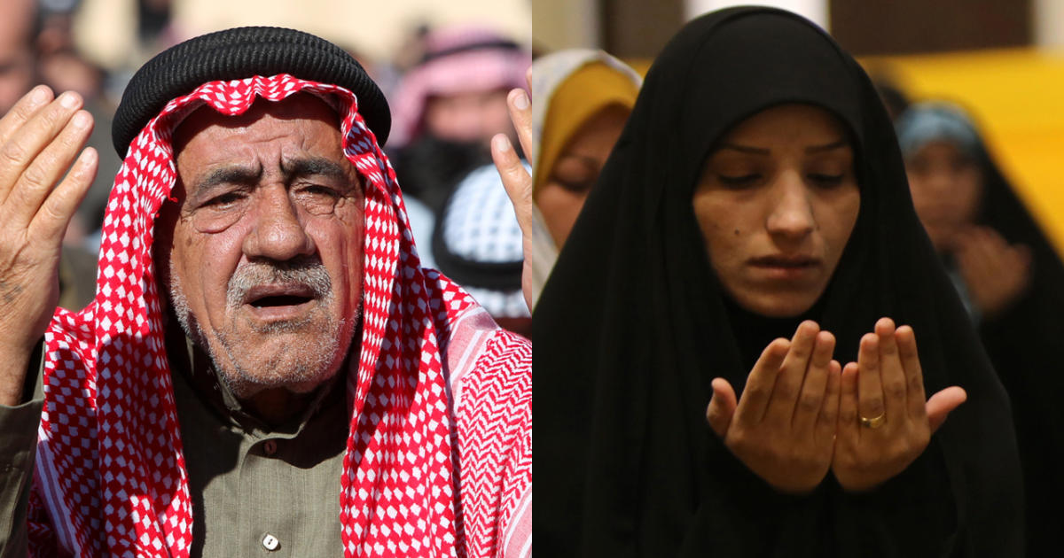 sunni shiite muslims praying promo.'