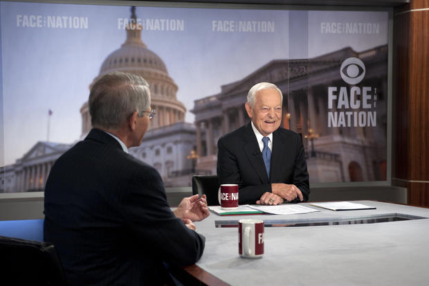 Veteran CBS News anchor Bob Schieffer signs off