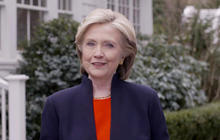 "Hillary Clinton: ""I'm running for president"""