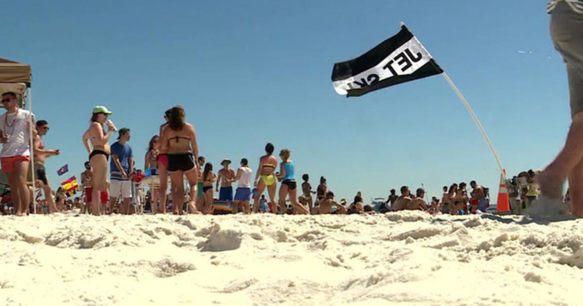 Video Catches Spring Break Rape On Florida Beach No One Helps Cbs News
