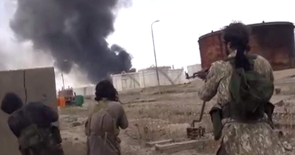 ISIS on offensive around Ramadi, west of Baghdad and ...