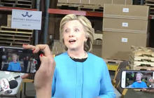 """Hillary Clinton dismisses """"Clinton Cash,"""" GOP critics"""