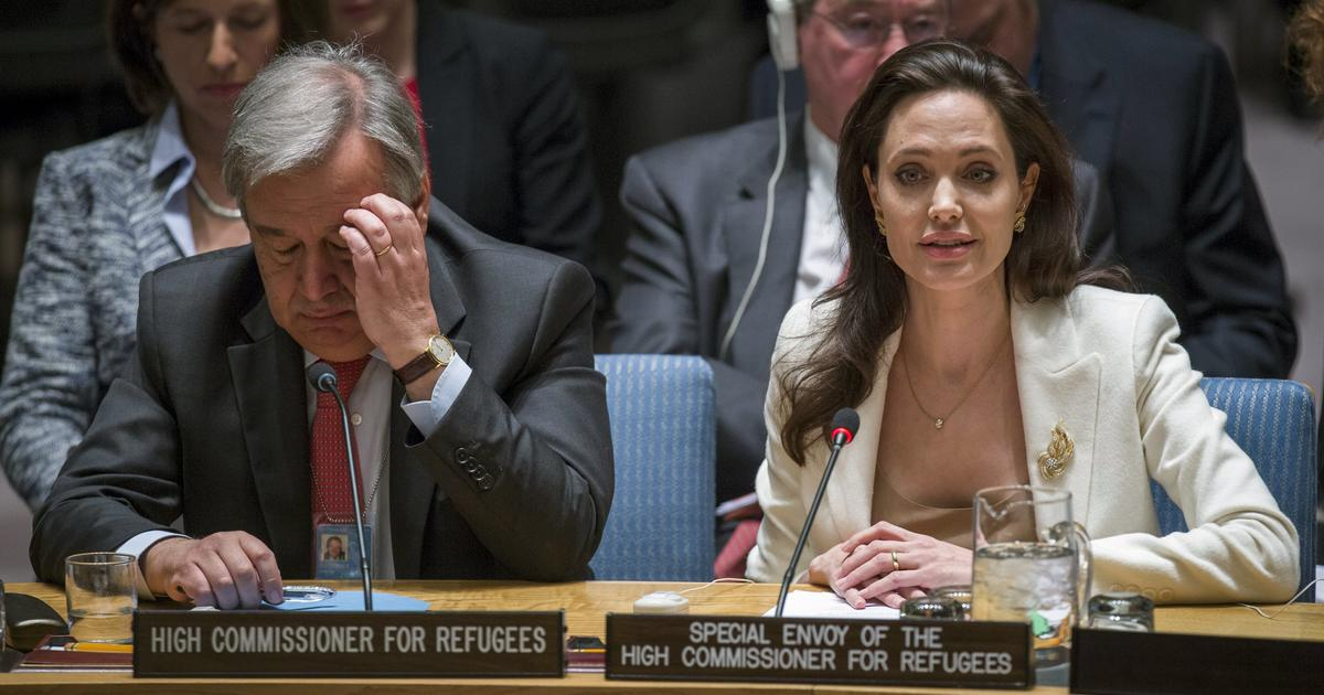 Angelina Jolie blasts world powers on Syria's refugee ...
