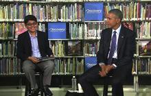 "Sixth-grader interrupts Obama:  ""You've sort of covered everything"""
