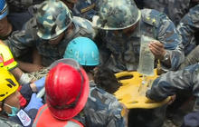 Miraculous rescue of teen from Nepal earthquake rubble