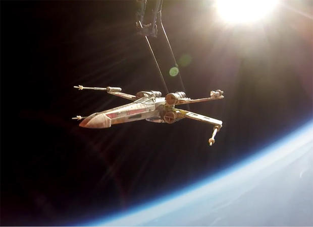 Unusual objects launched into space