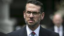 David Wildstein exits U.S. District Court in Newark, New Jersey, May 1, 2015.