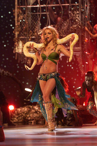 Image result for britney spears snakes