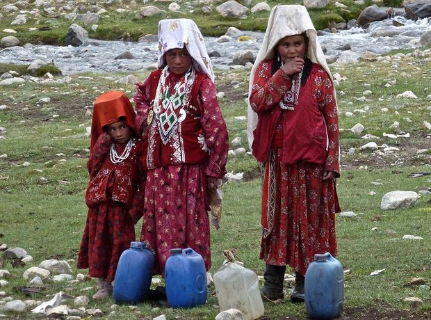 Women in red: Afghanistan's forgotten corner