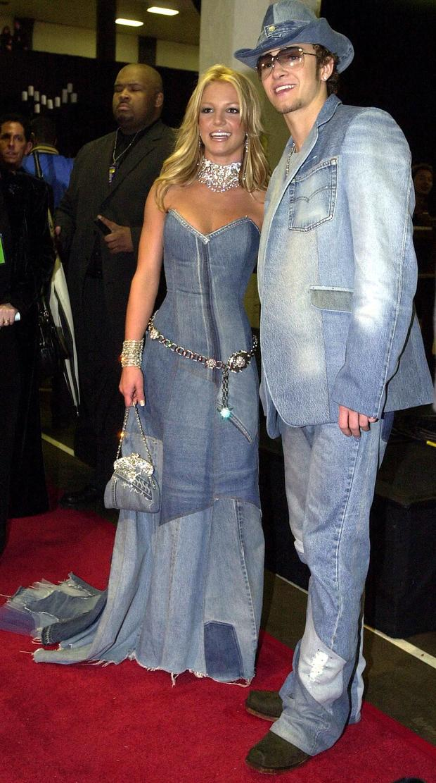 Britney Spears and Justin Timberlake: Visions in denim