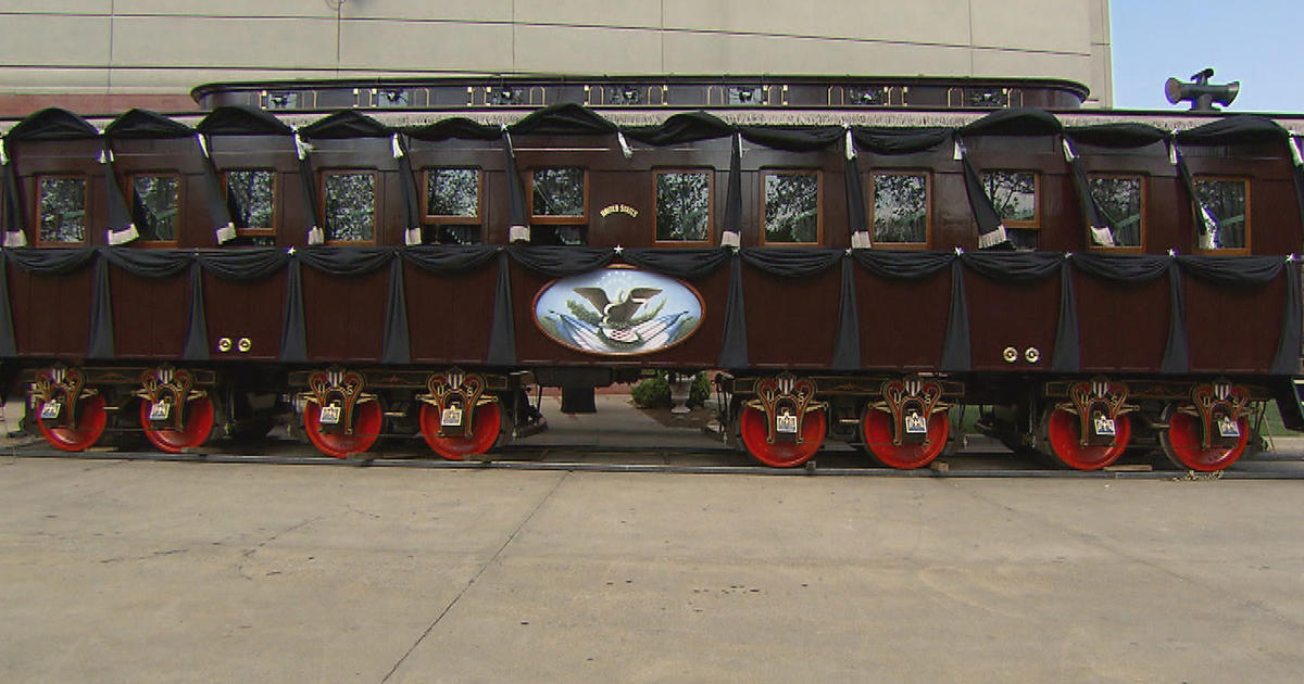 Lincoln S Funeral Train Is Reborn Cbs News