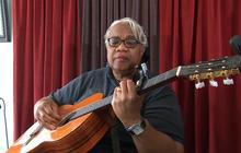 Mama Bear sings gospel