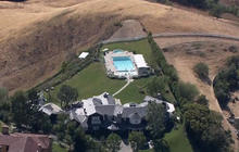 Celebrity estates staying green amid California drought