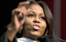 Michelle Obama opens up on race in graduation speech