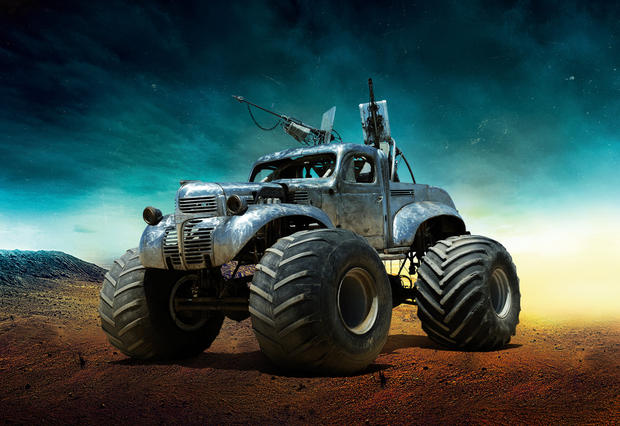 The War Rig The Cars Of Mad Max Fury Road Pictures Cbs News