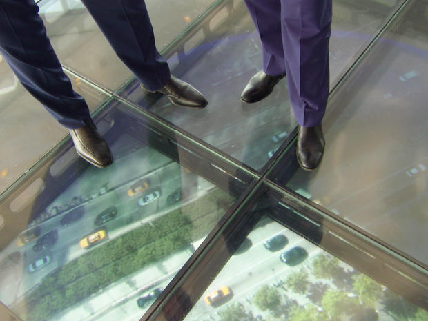 Cool tech at the top of One World Trade Center