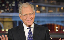 """Late Show"" host David Letterman's last bow"