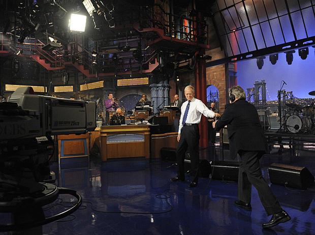 "David Letterman's last ""Late Show"""