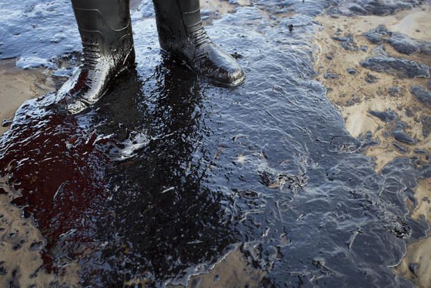 California oil spill