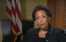 Loretta Lynch on police tension, race and making history
