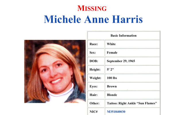 Michele Harris missing poster