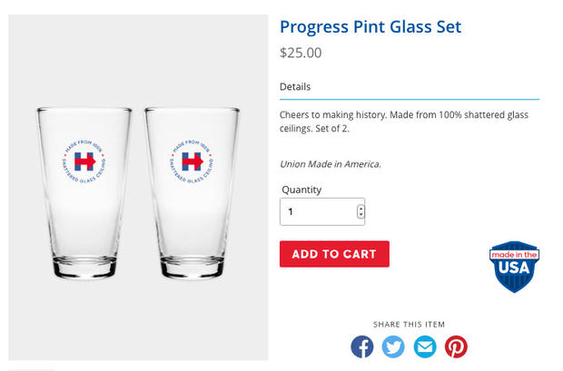 Quirky presidential campaign swag