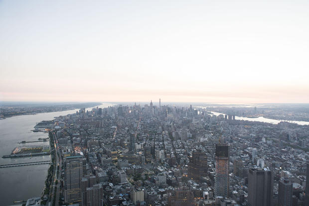 Breathtaking views from One World Observatory
