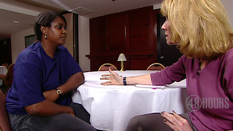 Sheila Green talks with Erin Moriarty in 1999.