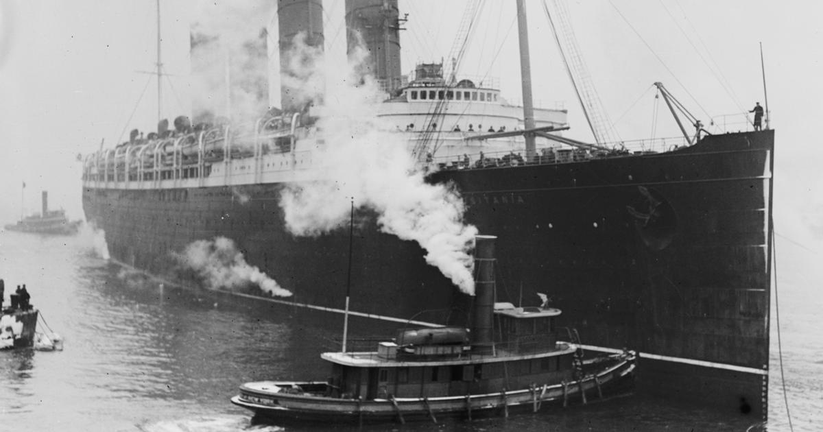 the dead - the lusitania disaster - pictures