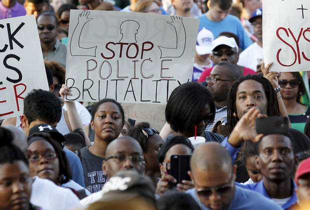 Police actions at Texas pool party protested