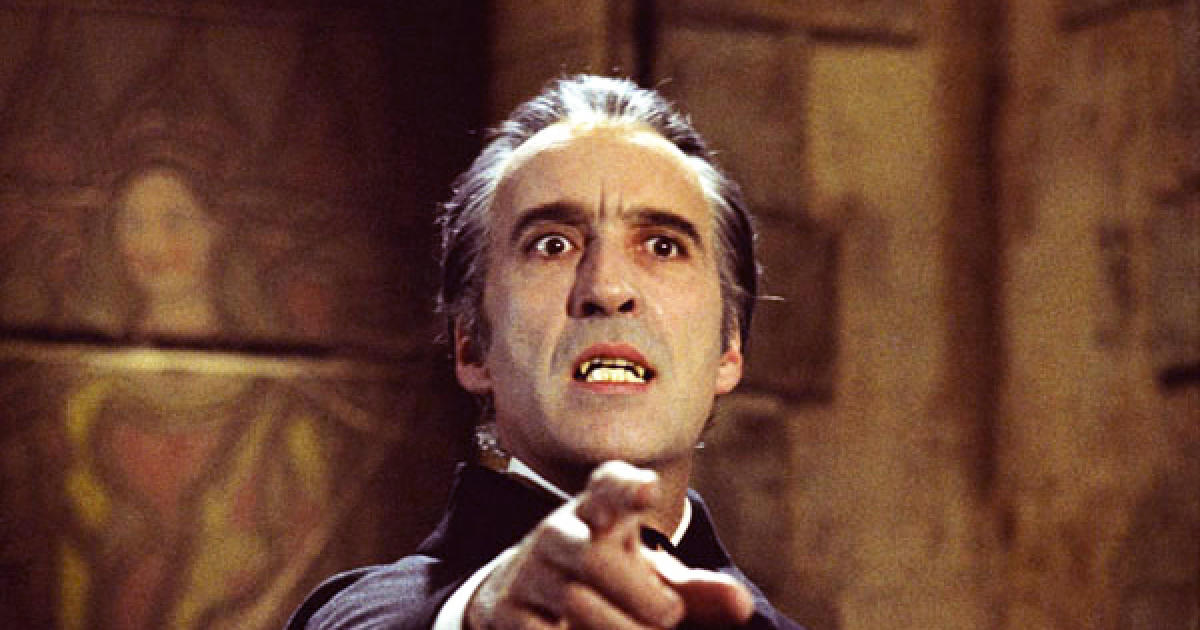 Image result for images of christopher lee as dracula