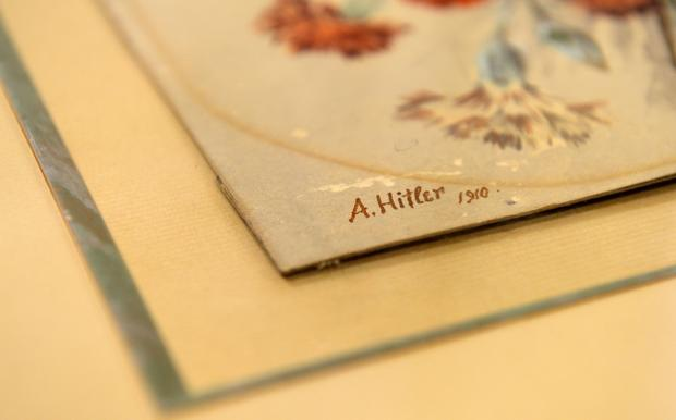 Hitler's art sells for nearly $450,000