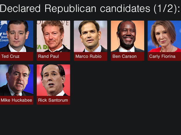 declared republican candidates 1 2 who is running for president