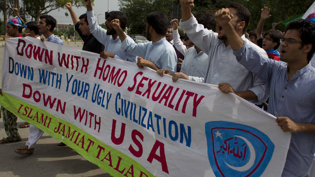 Is there homosexuality in pakistan