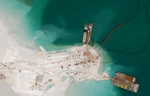 U.S. concerned over China's new artificial islands