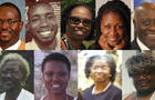 Six women and three men were killed in a shooting on the night of June 17, 2015, at historic Emanuel AME Church in Charleston, South Carolina.