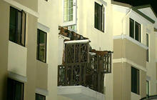 Rotted support beams blamed for Berkeley balcony collapse