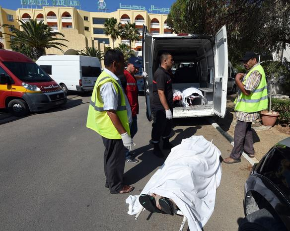 Tunisia beach terror attack