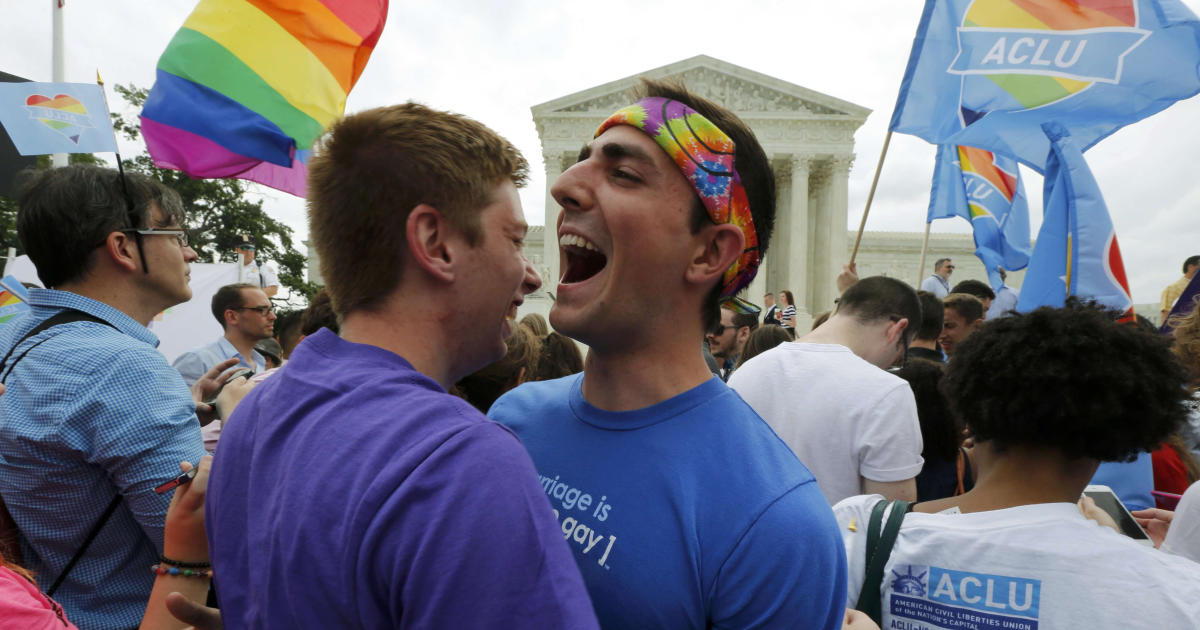 Same-Sex Marriage Legalized By Supreme Court - Cbs News-4292