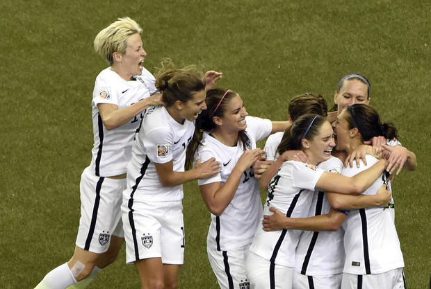 U.S. women storm to World Cup final