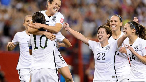 U.S. women storm to World Cup final