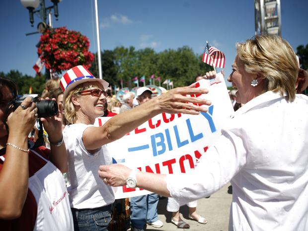Election 2016: Campaign run-ins on the July 4th parade route