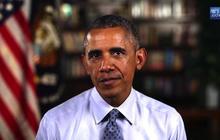 Obama thanks troops, civil rights leaders on July 4 weekend