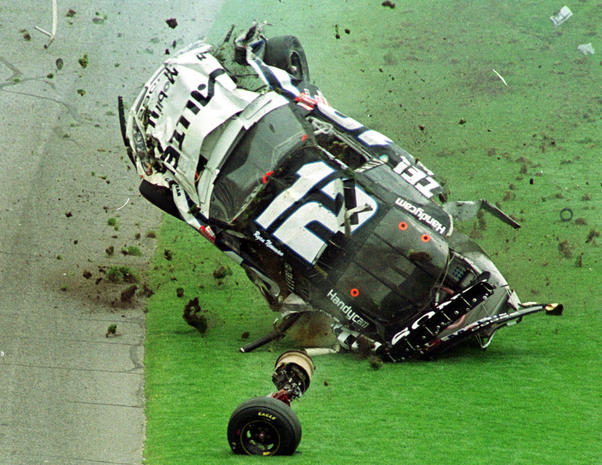 Horrifying NASCAR crashes